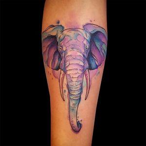 Tattoo by artist Hannah Clock. See more of Hannah's work: http://www.larktattoo.com/long-island-team-homepage/hannah-clock/ . .  .  .  . #elephant #elephanttattoo #colortattoo #watercolor #watercolortattoo #watercolorelephant #watercolorelephanttattoo #watercoloranimal #watercoloranimaltattoo #femaletattooer #femaletattooartist #ladytattooer #tattoo #tattoos #tat #tats #tatts #tatted #tattedup #tattoist #tattooed #inked #inkedup #ink #tattoooftheday #amazingink #bodyart #tattooig #tattoosofinstagram #instatats#larktattoo #larktattoos #larktattoowestbury #westbury #longisland #NY #NewYork #usa #art #hannah #hannahclock