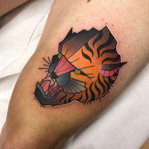 Tiger i did for chris #tiger