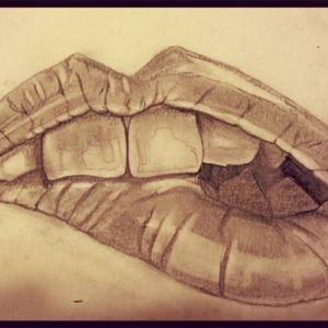 Some of my personal drawings #lips #tattoart