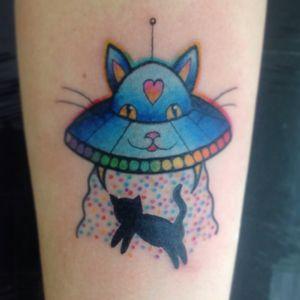 #ovni #cat #pettattoo #tattooedlady #catlovers