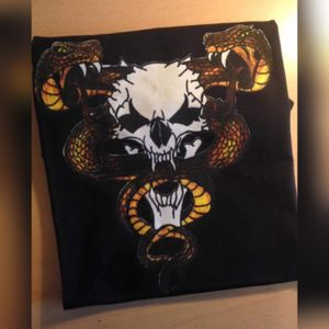 #skull #snakes #drawing #shirt #shirtdesign