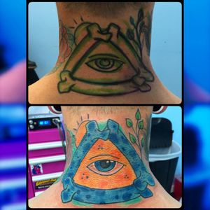 All seeing eye #neotatmachines #pridetattooneedles #phucstyxtattoosupply #phucstyx #electrumstencilprimer #walkinwarrior #batonrouge #batonrougetattooshop #Intenzetattooink #intenze #tattooist #tattooer #tattoo #allseeingeye #allseeingeyetattoo #ghettobrite2016