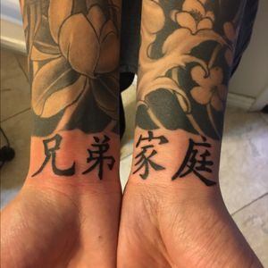 Added some chinese characters