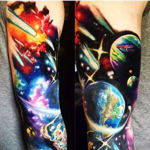 Artist Von Gray #galaxy #earth #planets #space #stars