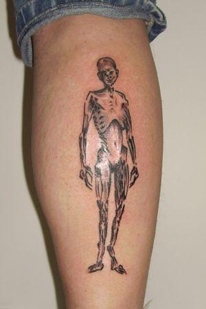 #skeleton #skeletontattoo