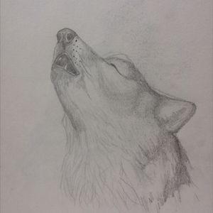 #wolf #pagan #howl #dog #design