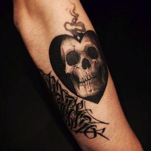 #gara #skull #heart #3D