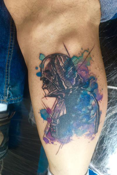 Darth Vader #darkside #tattoostarwars #darthvader
