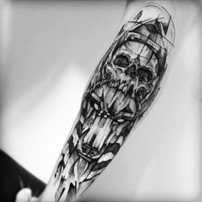 #anubis #skull #caveira #egyptian #egyptiangod #god