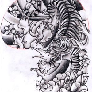 #dreamtattoo would LOVE to get this tattoo from Ami James, love his japanese themed work