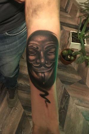 V for vendetta #GuyFawkes #guyfawkesmask #v #vforvendetta #mask #realistic #blackandgrey