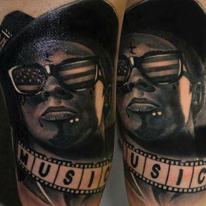 Realistic Lil Wayne By Jumilla@largavidatrece@kwadron#largavidatrece#largavida13 #jumilla#kwadron#valencia#spain#tattoo#tattoos#tatuaje#tatuage#tattooink#ink#bodyart#tattooartists#lil wayne#music#hip hop#rap#realistic#real#realismo#thebesttattoospain#thebestspaintattooartists#thebesttattooartists#thebestspaintattooartists#