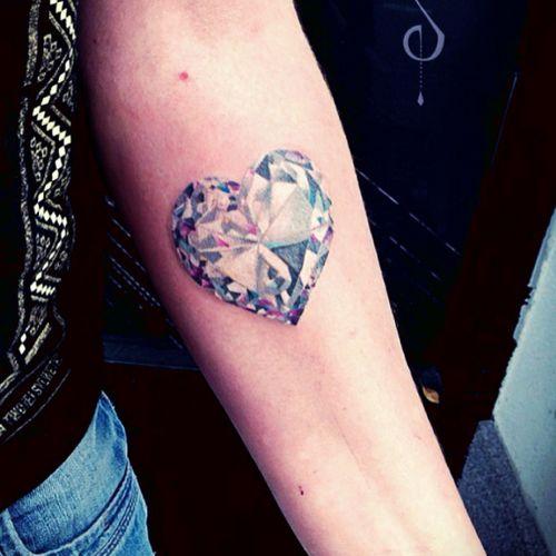 #OlieSiiz #heart #diamond #jewel