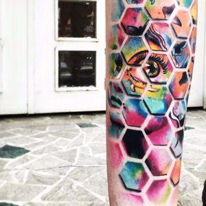 #AlexBruz #3D #opticalillusion #woman #eye #geometric
