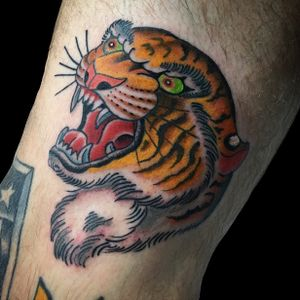 Tiger head for my friend Lee. Thanks man!