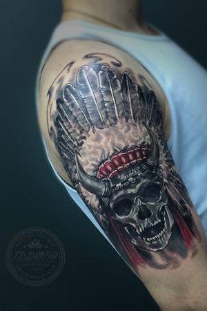 """Tattoo artist from Ukraine Yavtushenko   Skripnyak Dmitriy Private tattoo studio """"SripNYak ART"""" Tattoo practice since • 2000 •••••••••••••••••••••••••••••••••••• • Book Open How • Please Appointment  • tattoo.dmitriy@gmail.com 👁 WWW.TATTOO.DP.UA  •••••••••••••••••••••••••••••••••••• #tattooartist  #travelingartist #privatetattoostudio #davincicartridges #fkirons #tddnipro #ukrainetattooartist #yavtushenkodmitry #כשר #madeinukraine #зробленовукраїні #татуювання  #зробититатуювання #inknation #blackandgraytattoos #وشم #sleevetattoo #tattooed #tattooworld #դաջվածք #ტატუირება #קעקוע #oilpainting #acrylicpainting #ukraineartist #אומן"""