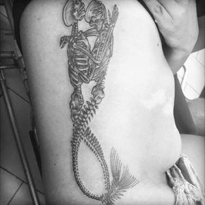 #skeletontattoo