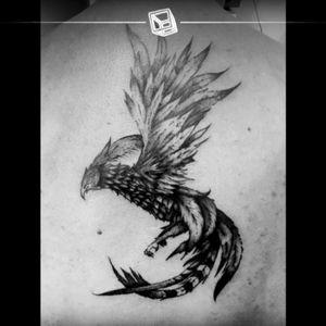 No.37 Phenix #phenix #blackandwhite #cheyennehawk #hawkpen #eternalink #tattoo #bylazlodasilva