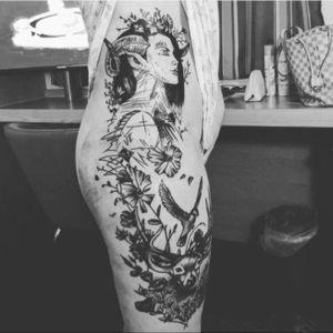 Line work done few weeks ago #liverpooltattoo #liverpooltattooartist #michaldetka #linework #FineLineTattoos #tattooartistmagazine