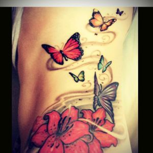 Would love to add even more creativity to my rainbow butterfly collection!! #dreamtattoo