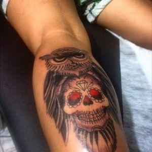 #owl #mexicanskull