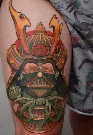 Samurai Darth for Fredde! Thanks dude! #tattoodoambassador