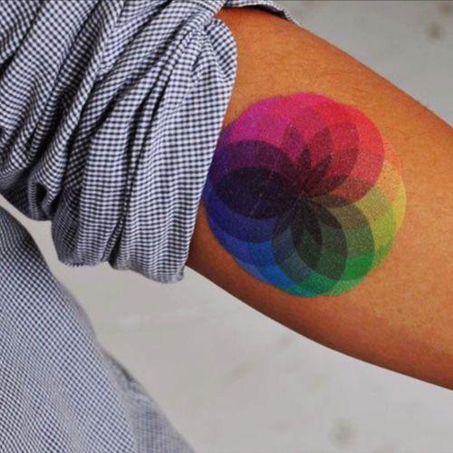 Cool #colorwheel #rainbow