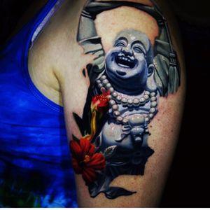 Artist #jamieSchene#buddha #flower #