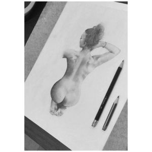 Nude art - my own work.  #nude #girl #drawing #sketchtattoo