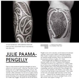 Feature page World Atlas of Tattoo #tattoobook #worldtattoo #tamoko #tattooatlas #maori