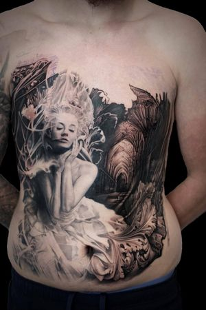 For more of my tattoos, check out www.instagram.com/bacanubogdan or www.Facebook.com/bacanu.bogdan.7 #BacanuBogdan #tattoooftheday #tattoo #blackandgrey #realism #realistic #tattooartist #chesttattoo