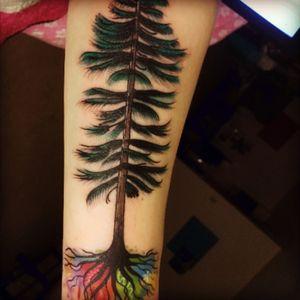 #tree #watercolortattoo #watercolorart #watercolor