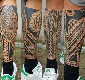 Done by Jarno Theijn - Resident Artist #tatt #tattoo tattoos #tattooart #tattooartist #tattoolovers #ink #inked #inkedup #inklovers #maori #maoritattoo #maoristyle #leg #legtattoo #legtattoos #amazingink #amazingtattoo #amazingtattoos #art #culemborg #netherlands