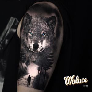 wolf done by me
