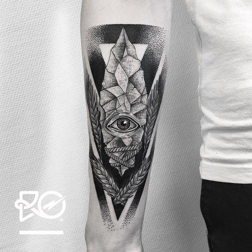 By RO. Robert Pavez • Stone of Genesis • Studio Nice Tattoo • Stockholm - Sweden 2017  • #engraving #dotwork #etching #dot #linework #geometric #ro #blackwork #blackworktattoo #blackandgrey #black #tattoo #deer #deertattoo #fineline