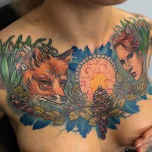 #chest #fox #portrait