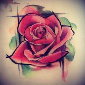 Rose 🌹 #rose #rosetattoo #knee #kneetattoo #knie #knietattoo