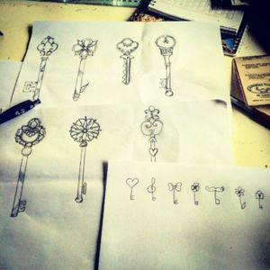My #drawings #keys