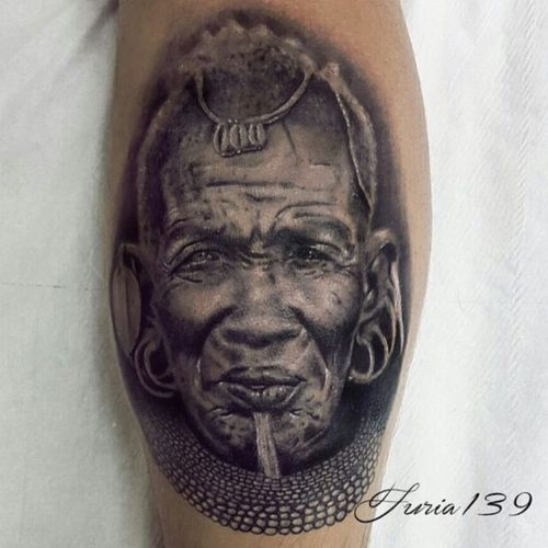 #portrait #realism #blackandgrey #tattooapprentice #apprentice #apprenticetattoo #londontattoo #furia