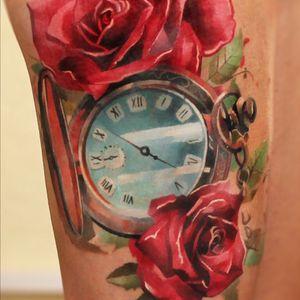 #rose #compass #rosetattoo #compasstattoo