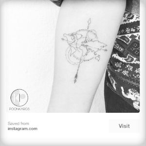 Map and compass tatoo- just can't decide which one , there are so many beautiful designs!