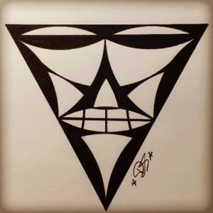 A bit of geometricwork ;) #geometric #geometrictattoo #tattoo #tattoosketch #two #meanings #in #one #like4like #follow4follow #mobileinkstitution #hannover #facebook @mobileinkstitution