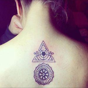 #triangletattoo #circletattoo