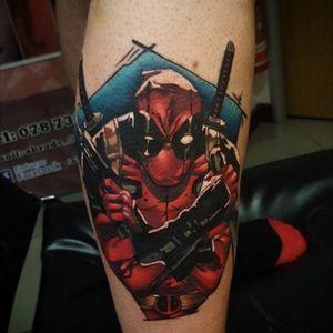 Deadpool #deadpool #marvel #marvelcomics #skinsworks #belfastcityskinworks #comictattoo
