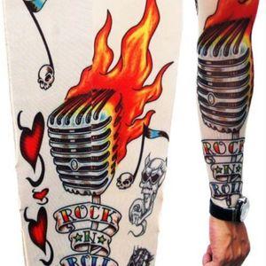 #faketattoo #sleeve #rockandroll