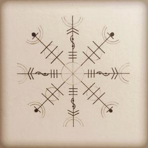 Vikings Rune #tatoo #handmade #drawing #draw #tatooartist #blackAndWhite #blackwork #blackandgrey #blackwork #tattoodesign #geometry #sacredgeometry #cercle #kneetattoo #rune #sacred #vikingtattoo #viking