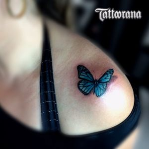 #tattorana #alextakahashi #butterflytattoo #butterfly