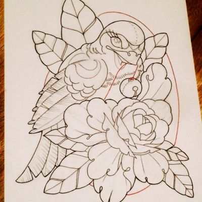 #sketch #sketchtattoo #neotraditional #neotraditionaltattoo #bird #birdtattoo #draw #drawing #sketchind #swallow #wings #feathers #peony #floral #floraltattoo #flower #flowertattoo #inspiration