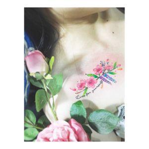 #flowertattoo #SakuraTattoo #colortattoo #tattoowork