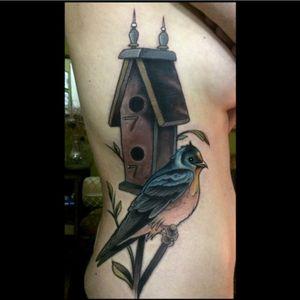 By Brian Povak #bird #birdhouse